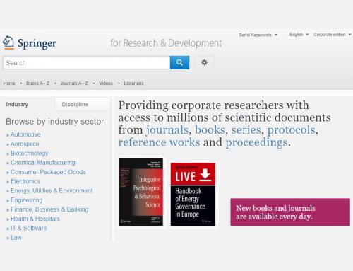 Відкрита реєстрація на вебінари Springer Nature
