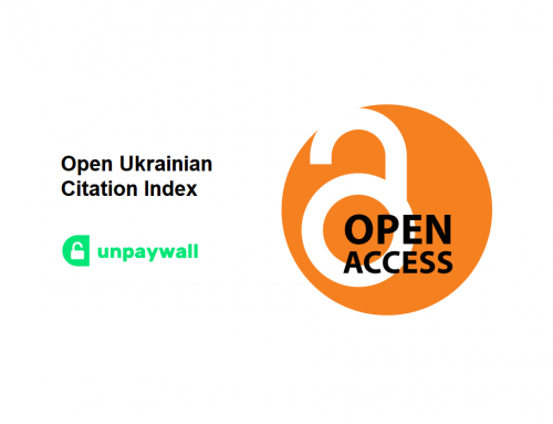 The Open Ukrainian Citation Index makes millions of open scientific publications easily accessible