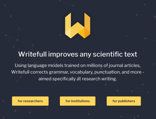 Напишите идеальную англоязычную статью вместе с Writefull